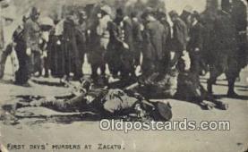 mex001078 - Zacato Mexican War Postcard Post Card Postal Mexicano Guerra tarjetas postales