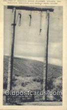mex001085 - Plummer, Stinson, Ray, Wagoner, Pizanthjo, Rawley were hanged Mexican War Postcard Post Card Postal Mexicano Guerra tarjetas postales