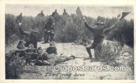 mex001087 - Firing Line Mexican War Postcard Post Card Postal Mexicano Guerra tarjetas postales