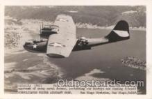 mil000001 - Catalina, Airplane, Aircraft, Postcard Postcards