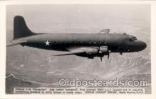 mil000021 - Douglas C-54, Airplane, Aircraft, Postcard Postcards