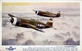 mil000030 - Military Plane Postcard Postcards