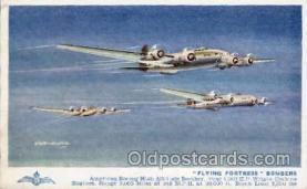mil000035 - Military Plane Postcard Postcards