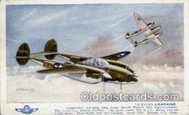 mil000036 - Military Plane Postcard Postcards