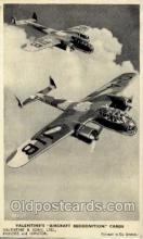 mil000037 - Military Plane Postcard Postcards