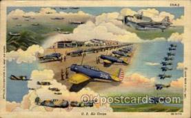 mil000043 - Military Plane Postcard Postcards