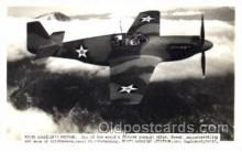 mil000063 - North America's Mustang, Military Airplane Postcard Postcards