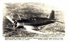 mil000069 - Vought-Sikorsky, Corsair, F4U-1, Military Airplane Postcard Postcards