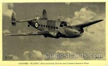 mil000076 - Lockheed, Hudson, Military Airplane Postcard Postcards