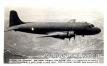 mil000078 - Douglas C-54, Skymaster, Military Airplane Postcard Postcards