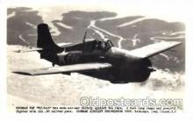 mil000092 - Grumman F4F, Wildcat, Military Airplane Postcard Postcards