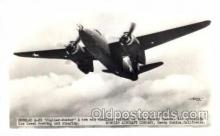 mil000095 - Douglas A-20, Fighter Bomber, Military Airplane Postcard Postcards
