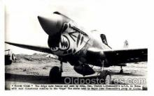 mil000106 - Flying Tiger, Military Airplane Postcard Postcards