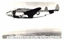 mil000107 - Vega PV-1, Military Airplane Postcard Postcards