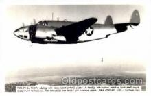 mil000113 - Vega PV-1, Military Airplane Postcard Postcards