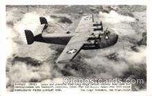 mil000120 - Coronado, PB2Y, Military Airplane Postcard Postcards