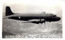 mil000131 - Douglas C-54, Skymaster, Military Airplane Postcard Postcards
