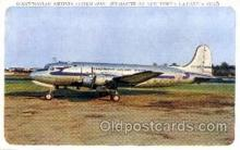 mil000142 - Scandinavian Airlines System, Skymaster, Military Airplane Postcard Postcards