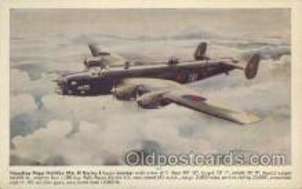 mil000154 - Handley Page Halifax MK. II Series I Military Plane, Planes Postcard Postcards