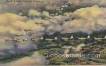 mil000163 - U.S. Army Flying Military Plane, Planes Postcard Postcards