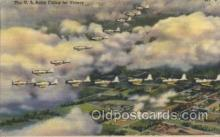 mil000164 - U.S. Army Flying Military Plane, Planes Postcard Postcards