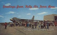mil000171 - Kelly Air Force Base Military Plane, Planes Postcard Postcards