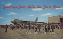 mil000175 - Kelly Air Force Base Military Plane, Planes Postcard Postcards