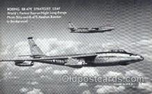 mil000200 - Boeing RB-47E Stratojet  Military Airplane Postcard Post Cards