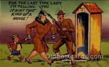 mil001004 - Military Comic Postcard Postcards