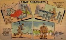 mil001005 - Military Comic Postcard Postcards