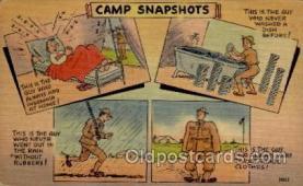 mil001005 - Military Comic Postcard Postcards