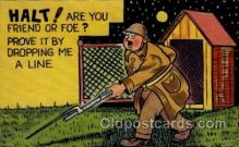 mil001010 - Military Comic Postcard Postcards