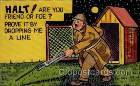 mil001010 - Military Comic Postcard Postcards