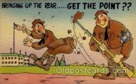 mil001012 - Military Comic Postcard Postcards