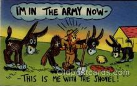 mil001016 - Military Comic Postcard Postcards