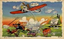 mil001021 - Military Comic Postcard Postcards