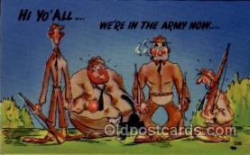 mil001031 - Military Comic Postcard Postcards