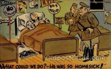 mil001033 - Military Comic Postcard Postcards