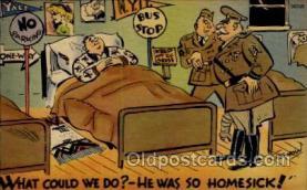 mil001033 - Military Comic Postcard Postcards