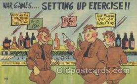 mil001042 - Military Comic Postcard Postcards