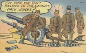 mil001044 - Military Comic Postcard Postcards