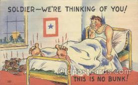mil001045 - Military Comic Postcard Postcards
