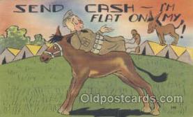mil001047 - Military Comic Postcard Postcards