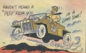 mil001049 - Military Comic Postcard Postcards
