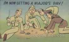 mil001052 - Military Comic Postcard Postcards