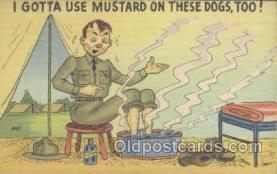 mil001054 - Military Comic Postcard Postcards