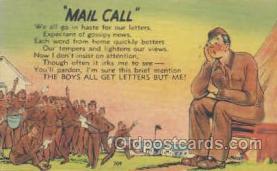 mil001057 - Military Comic Postcard Postcards