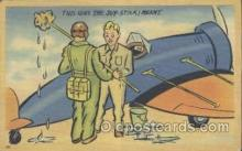 mil001060 - Military Comic Postcard Postcards