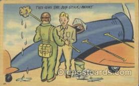 mil001060 - Military Comic Postcard Postcards