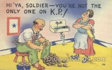 mil001063 - Military Comic Postcard Postcards